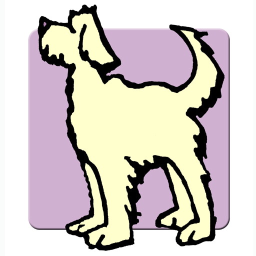 Rewarding Dogs Mauve Logo